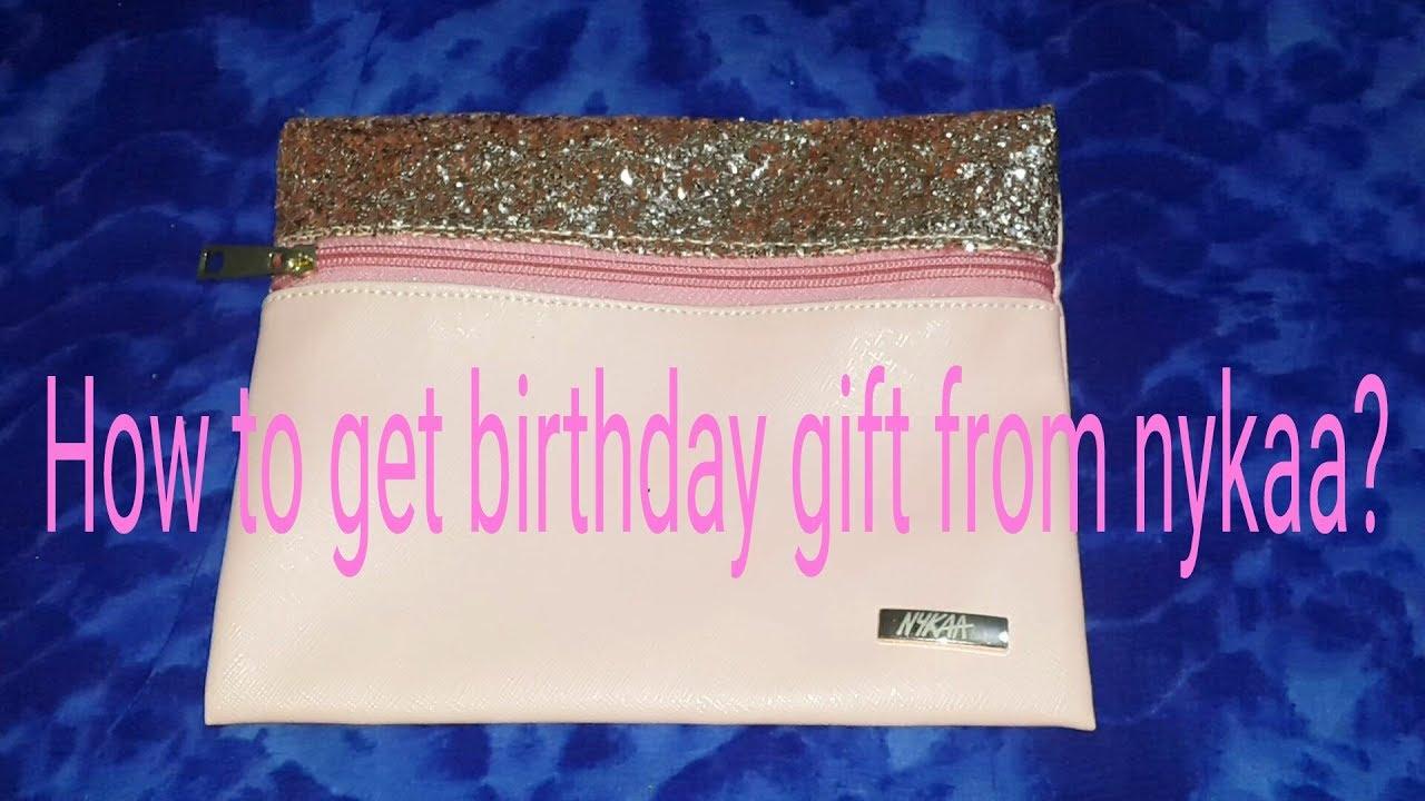 Nykaa priv birthday gift detail info youtube nykaa priv birthday gift detail info negle Images