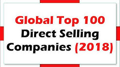 2018 Global Top 100 Direct Selling Companies with Sales
