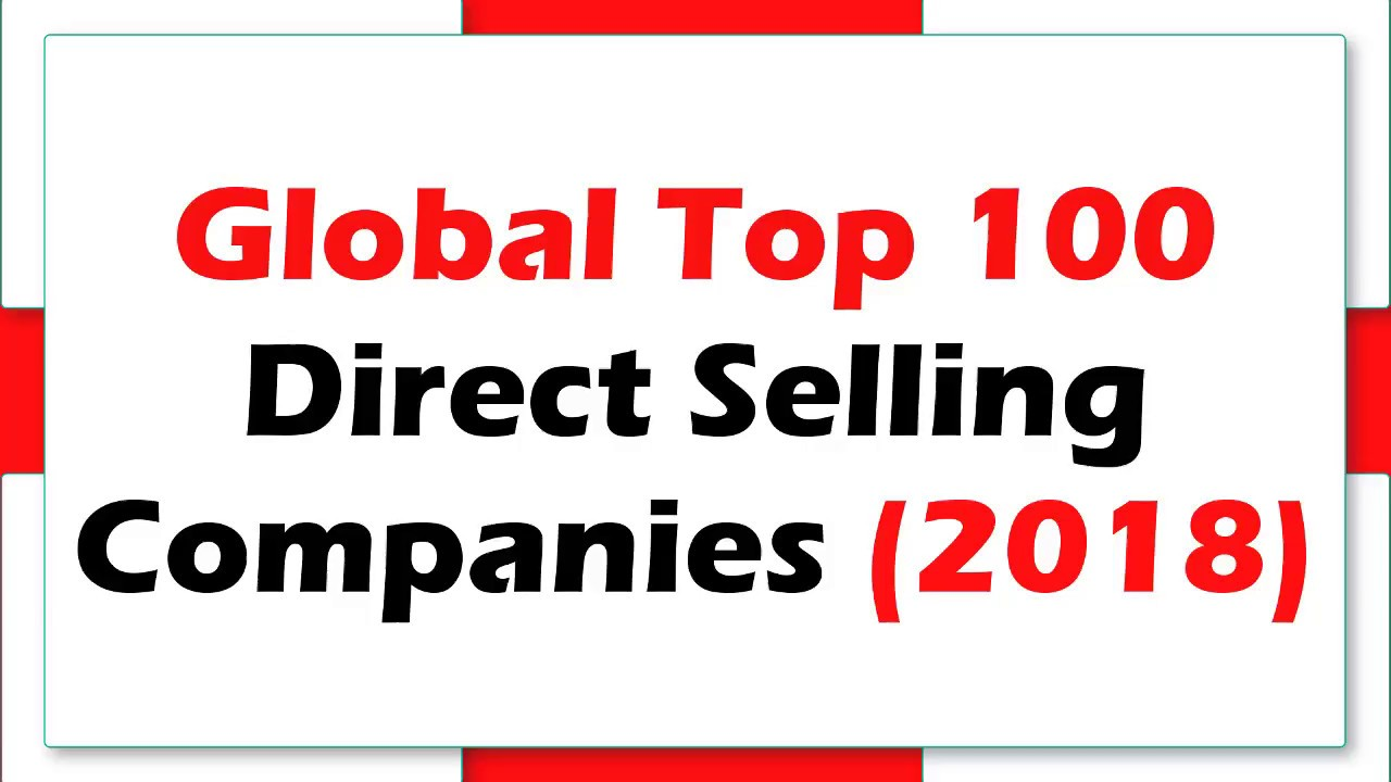 New direct sales companies 2018