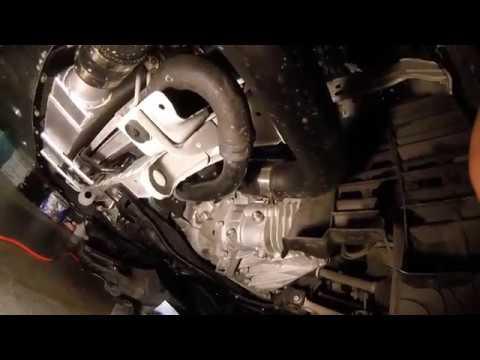 Evo X GSR Transmission fluid change  YouTube