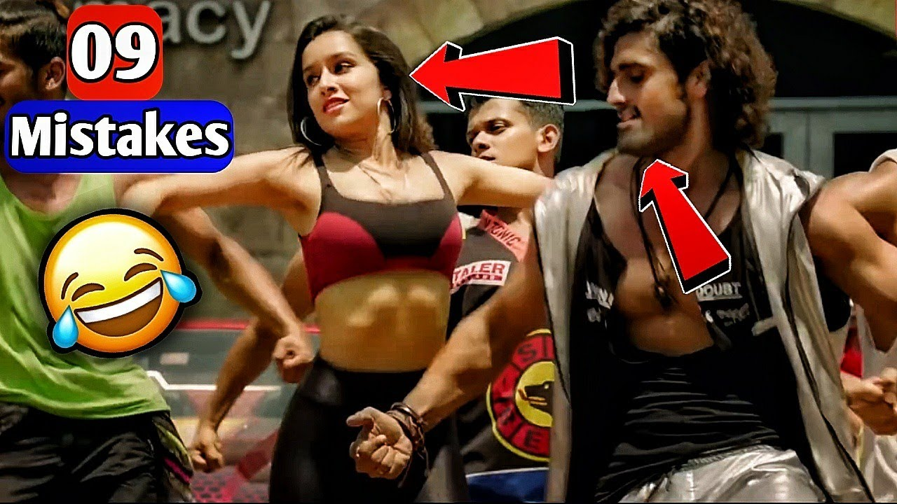 (9 Mistakes) In Illegal Weapon 2.0 Street Dancer 3D   Varun Dhavan, Shraddha Kapoor   PlentyMistakes