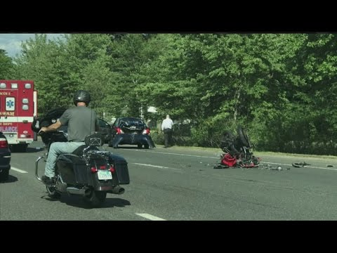 Motorcycle accident closes 2 lanes on Route 57 in Agawam