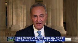 Sen. Chuck Schumer on Obama and Israel
