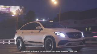 DT Test Drive - Mercedes-AMG GLE 63 Coupe vs BMW X5 M