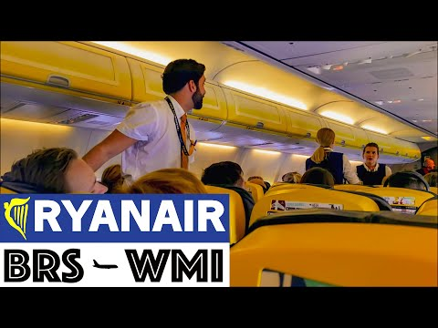 🇬🇧Bristol to 🇵🇱Warsaw   Ryanair B737 Flight Report   NOT WORSE THAN YOU THINK