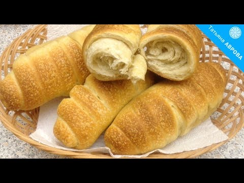 Хлебные рогалики из