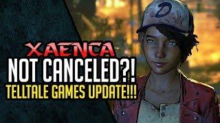 The Walking Dead Final Season Saved?! Not Officially Canceled?! Telltale Games Update!!! | Xaenca