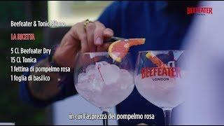 Il Beefeater &amp Tonic di Milano svelato all&#39Hidden Garden