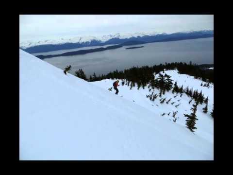 Skiing the Chilkat Peninsula via the AK Marine Highway