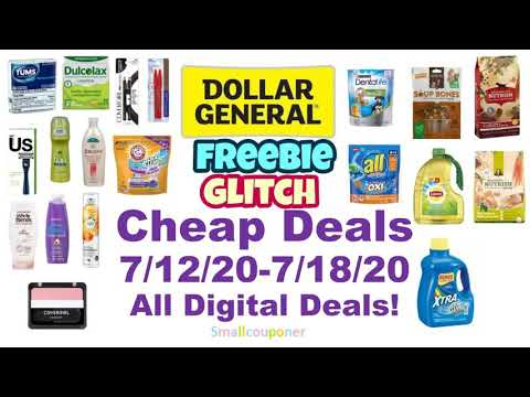 Dollar General Cheap Deals 7/12/20-7/18/20! All Digital Deals!