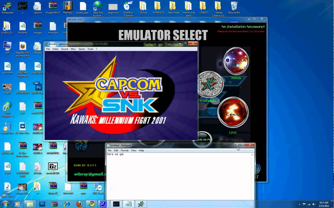 MAME CPS3 DRIVERS WINDOWS 7 (2019)