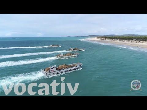 Talisman Saber Is Australia's Largest Beach Invasion Since WWII