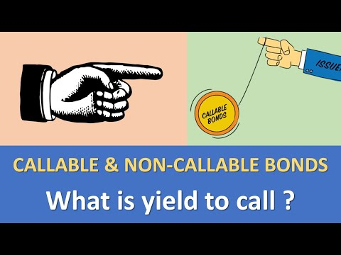 Chapter 3 - Callable & Non-Callable bonds | What is yield to call ?