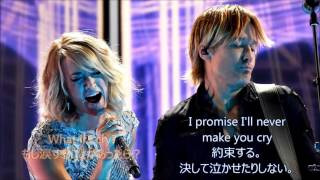Download 洋楽 和訳 Keith Urban - The Fighter ft. Carrie Underwood MP3 song and Music Video
