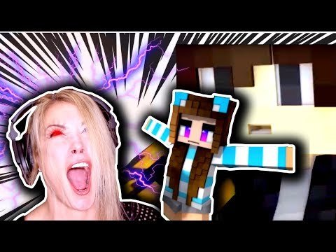 WHYYYY????!!!!!!!  PSYCHO GiRL 18 REACTION   Die For You  Minecraft MC Jams Music