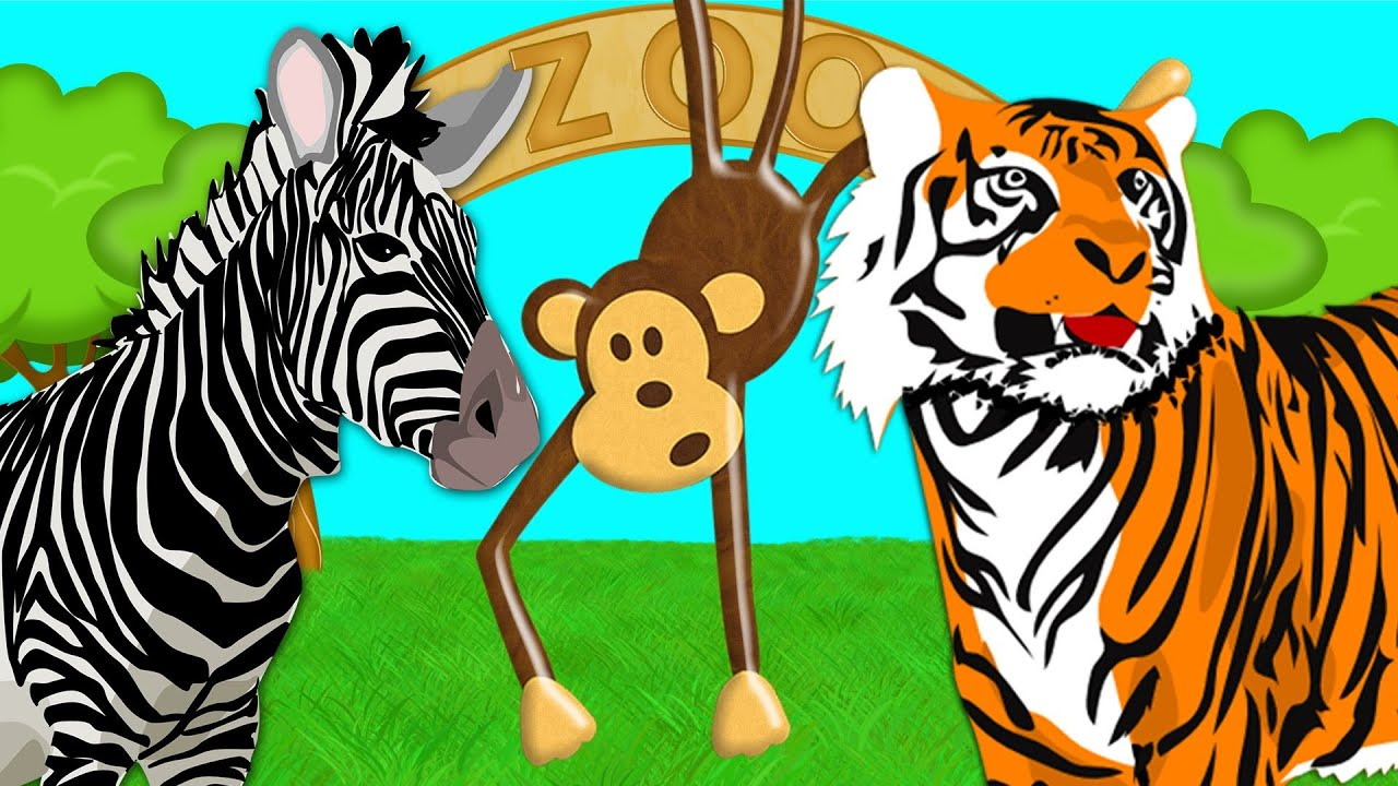 Simple Learning Zoo Animals Learn About Animals at the Zoo ...