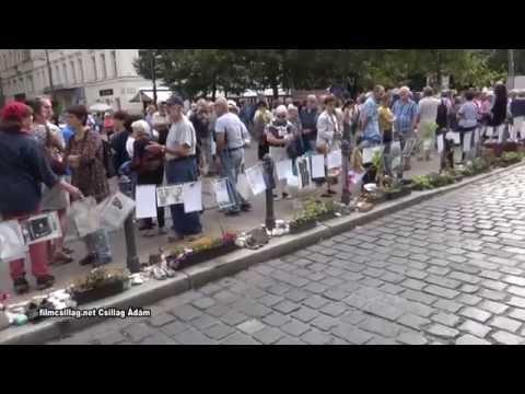 Villámcsődület- Megrongálták az Eleven Emlékművet