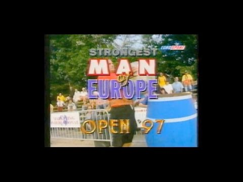 THE STRONGEST MAN OF EUROPE 1997 OPEN.
