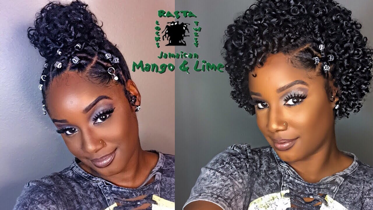 make your basic natural hairstyles lit   feat. jamaican mango and lime