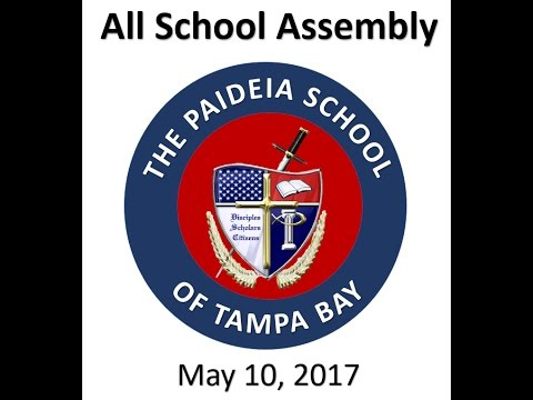 The Paideia School of Tampa Bay's All School Assembly