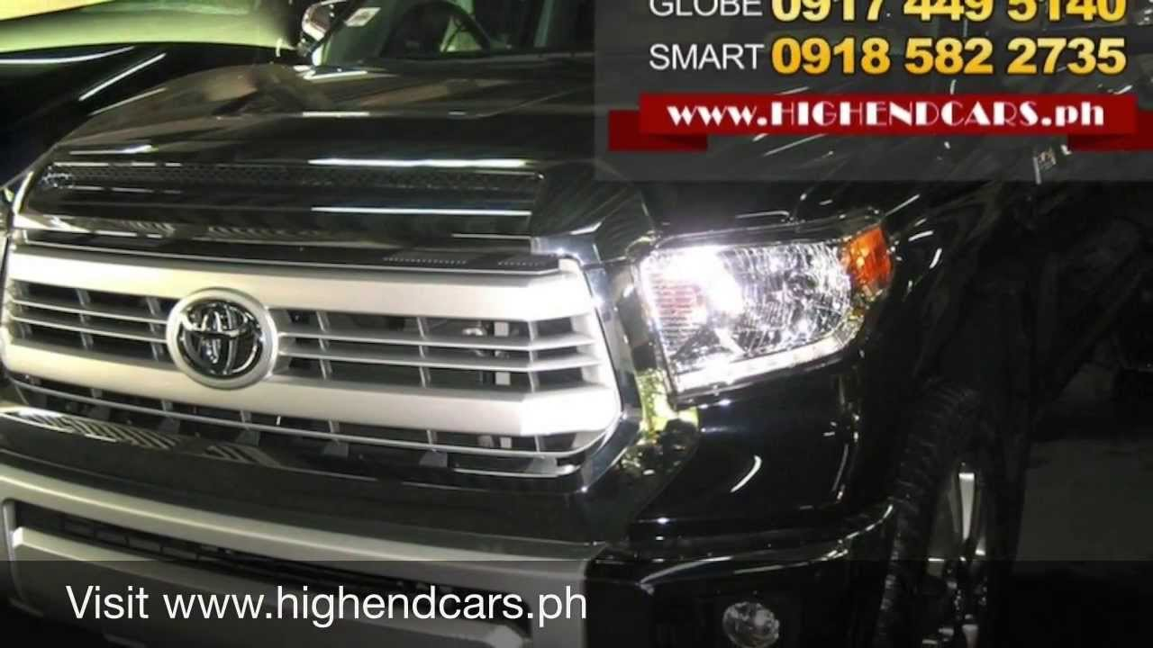 2014 Toyota Tundra 1794 Limited Edition Philippines Www