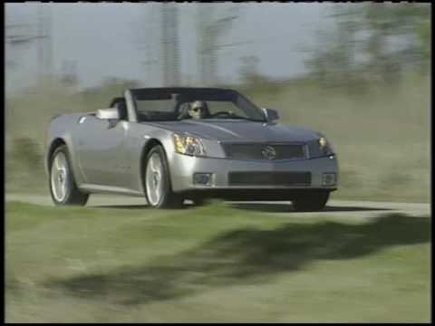 Cadillac Xlr V Introduced In 2005 Youtube