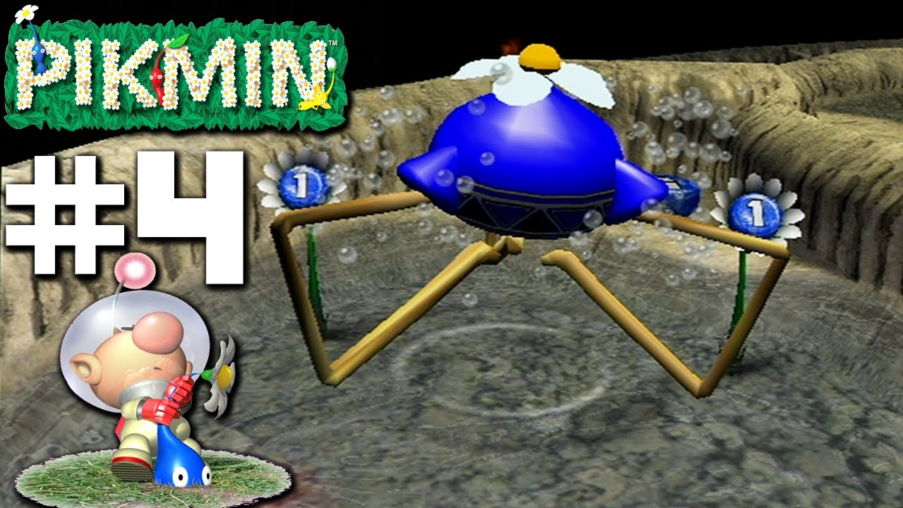 Pikmin Blue Lagoon Part 4 Nintendo Gamecube Gameplay Walkthrough Youtube