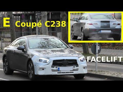 Mercedes Erlkönig E-Klasse E-Class Coupé Facelift prototype C238 E Coupe (2020) * 4K SPY VIDEO