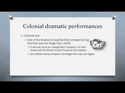 GES1025 (2016) 05B-02 Early History of Drama in Singapore
