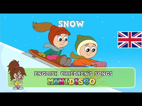 In The Snow | children's songs | nursery rhymes | kids dance songs by Minidisco