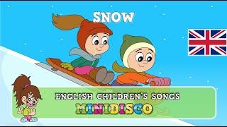 Children's Songs | IN THE SNOW | Nursery Rhymes | Cartoon | Mini Disco
