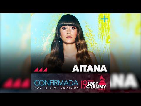 Aitana entregará un premio en los 'Latin Grammy Awards'