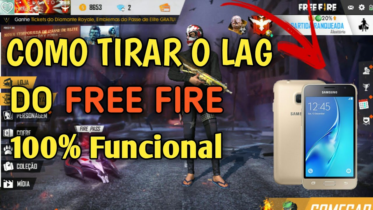 APRENDA COMO RODAR FREE FIRE LISO😱  NO J1 MINI ( MESTRE DO J1 MINI)