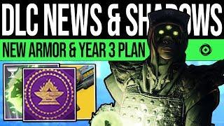 Destiny 2  DLC UPDATE amp PREMIUM SEASONS New Armor Exotic Fix Year 3 Plan Cryptoglyph amp Events