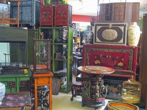 Golden Lotus Antiques store tour 1