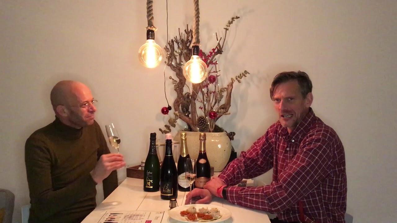 Bubbles, darlings bubbles met Leendert Bouthoorn en Sander Salburg van Winesunlimited