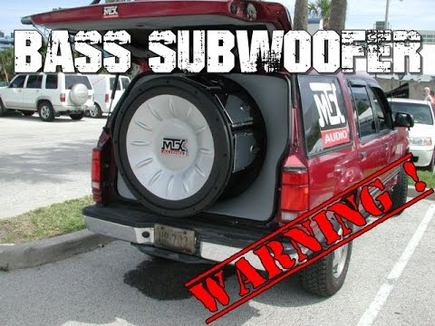 Bass Test Xtreme - Auto Bass Subwoofer Warning
