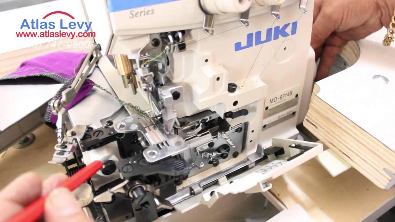 juki overlock mo 6714s how to thread the machine youtube rh youtube com Juki Instruction Manual Juki DDL 5530 Manual
