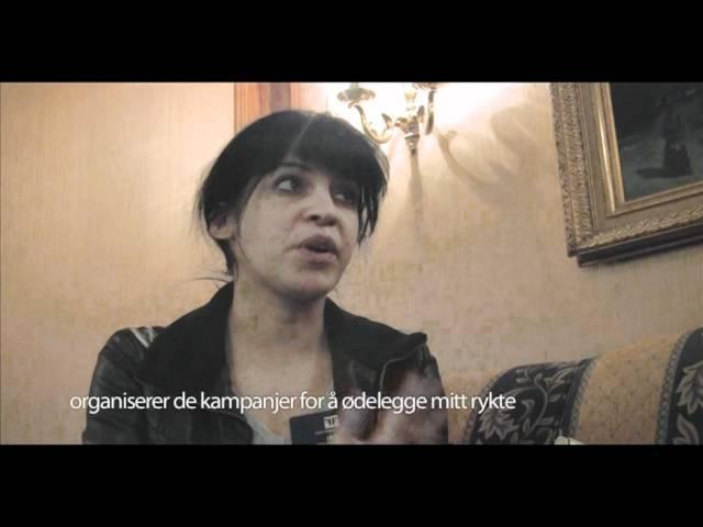Bloggeren Lina Ben Mhenni om pressefrihet i Tunisia