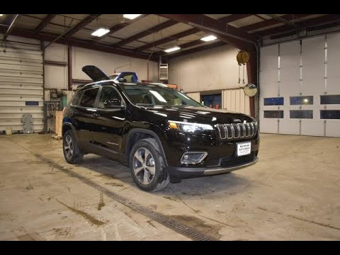 2020 Briliant Black Jeep Cherokee Limited 4x4 SJ6827 Motor Inn Auto Group