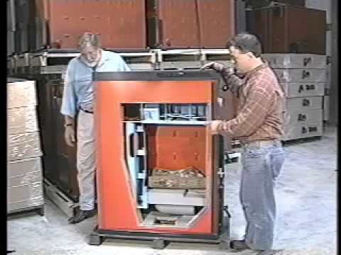 tarm gasification wood boiler craig issod youtube