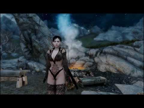 Skyrim Jill Black Widow MOD