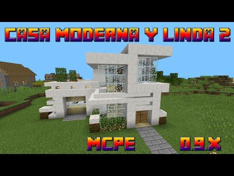 minecraft pe casa moderna enorme descarga doovi