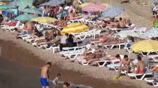 Uluburun  plajı Giresun canlı güzel görüntüler