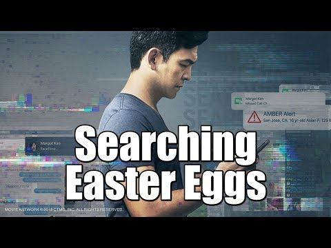 Searching Movie (2018) MAJOR Easter Eggs