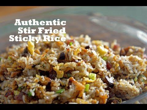 how-to-make-cantonese-stir-fried-sticky-rice-(生炒糯米饭)