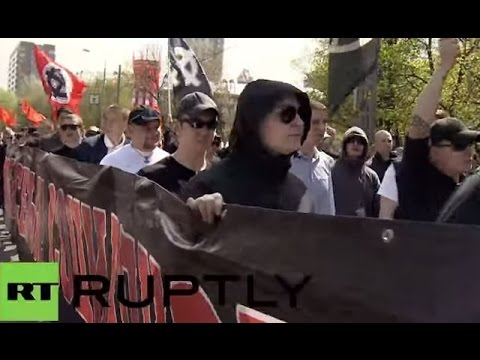 LIVE Russian nationalists march in Moscow