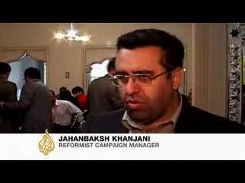 Reformists in Iran play on economic woes - 24 Apr 2008