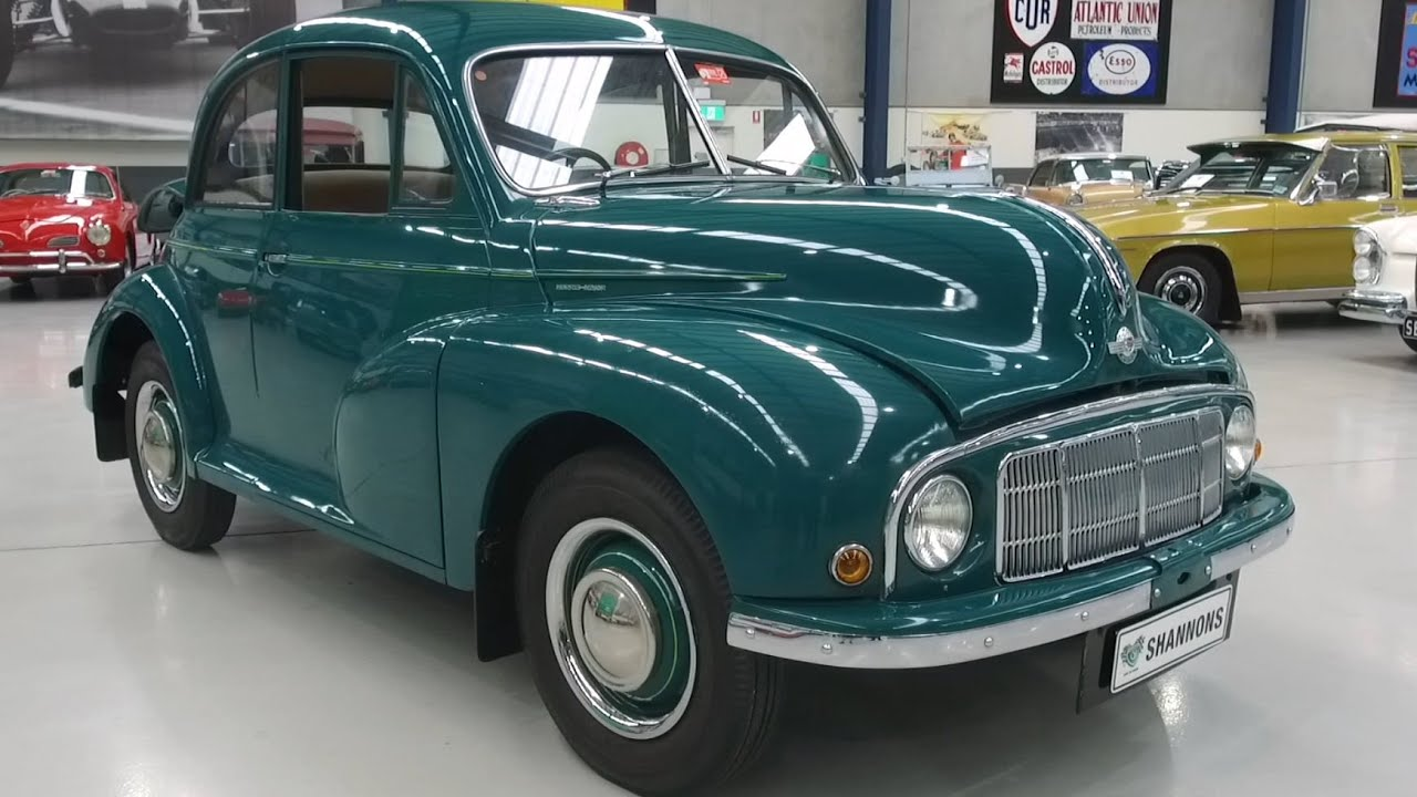 1949 Morris Minor 'Low Light' 2 DR Saloon - 2020 Shannons Winter Timed Online Auction