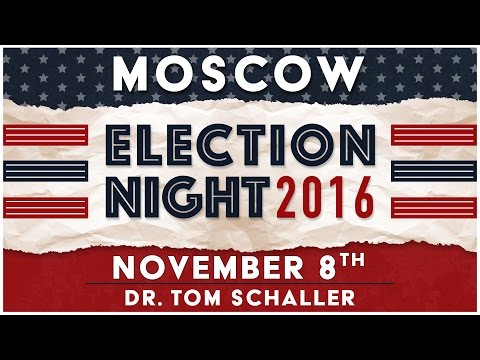 Election Night 2016  - Moscow